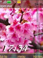 Spring flowering12 swf es el tema de pantalla