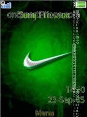 Nike Logo 01 es el tema de pantalla