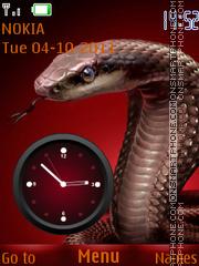Cobra Clock 02 tema screenshot