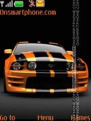 Ford Mustang 91 theme screenshot