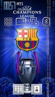 Barcelona 2014 tema screenshot