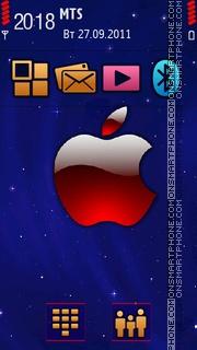 Apple Acquaint tema screenshot