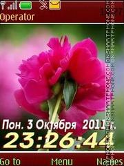 Flower12 swf es el tema de pantalla