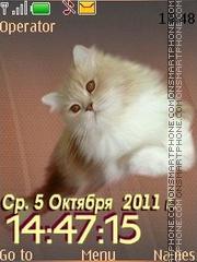 Cat 12 swf es el tema de pantalla