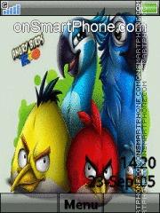 Angry Bird 03 es el tema de pantalla