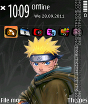 Naruto 06 theme screenshot