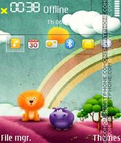 Cartoon 06 es el tema de pantalla