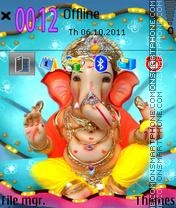 Lord Ganesha 04 es el tema de pantalla