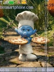 Smurfs by lucriss theme screenshot