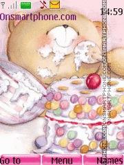 Happy birthday bear theme screenshot
