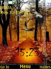 Animated Rain Bird 01 theme screenshot