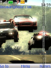 Nfs Most Wanted 14 es el tema de pantalla