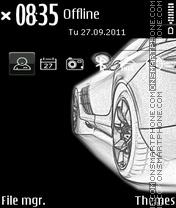 Nice car 09 es el tema de pantalla