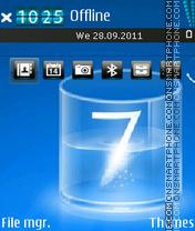 Think Seven theme screenshot