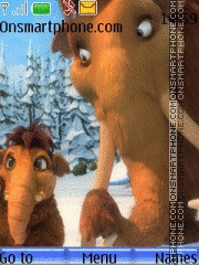 Ice age-elly theme screenshot