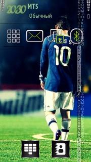 Messi 08 theme screenshot