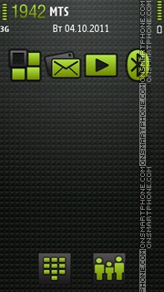Official Android tema screenshot