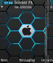 Apple for 5800 and n96 es el tema de pantalla
