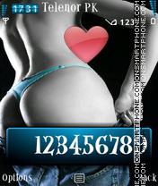 Awsome Back 5800 N96 theme screenshot