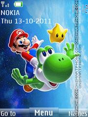 Mario Animation 01 es el tema de pantalla