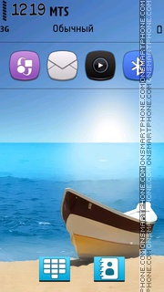 Sea V5 theme screenshot