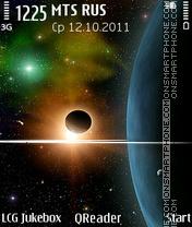 Space-Collage theme screenshot