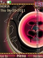 Pink abstract es el tema de pantalla