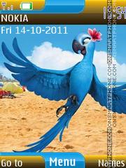 Angry Birds Rio 01 theme screenshot