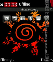 Seal Of Naruto theme screenshot