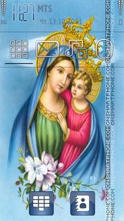 Jesus And Mary es el tema de pantalla