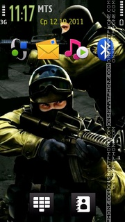 Counter Strike 2011 theme screenshot