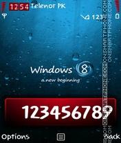 Windows 8 es el tema de pantalla
