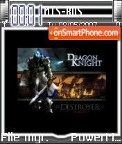 Dragon Knight es el tema de pantalla