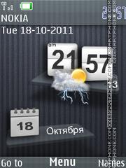Iphone style es el tema de pantalla