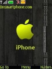Apple Green es el tema de pantalla