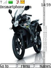 Honda Cbr250r theme screenshot
