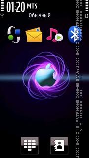 Apple Neon theme screenshot