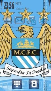 Manchester City 01 tema screenshot