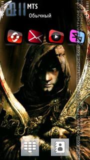 Prince Of Persia 2035 theme screenshot