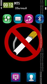 No Smoking 03 theme screenshot