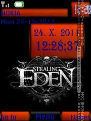 Stealing Eden By ROMB39 es el tema de pantalla