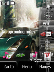 Nfs Sidebar tema screenshot