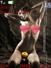 Naked Art 03 theme screenshot