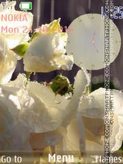 Beautiful Roses theme screenshot