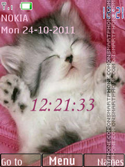 Sleep Kitten es el tema de pantalla