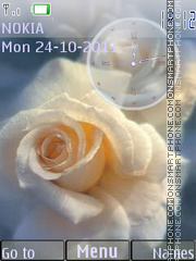 Tender Roses es el tema de pantalla
