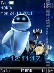 Wall-e es el tema de pantalla