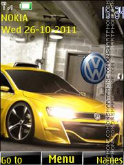 Volkswagen 03 theme screenshot