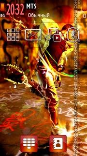 Dancer Boy 01 es el tema de pantalla