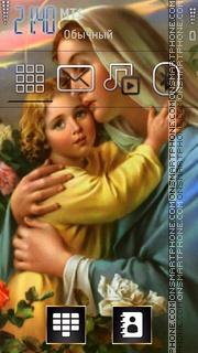 Jesus And Mary 01 es el tema de pantalla
